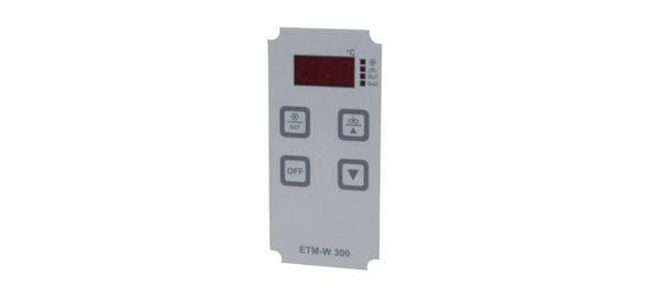 Плёнка дисплея термостат-регуляторa ETM-W300, фото 2