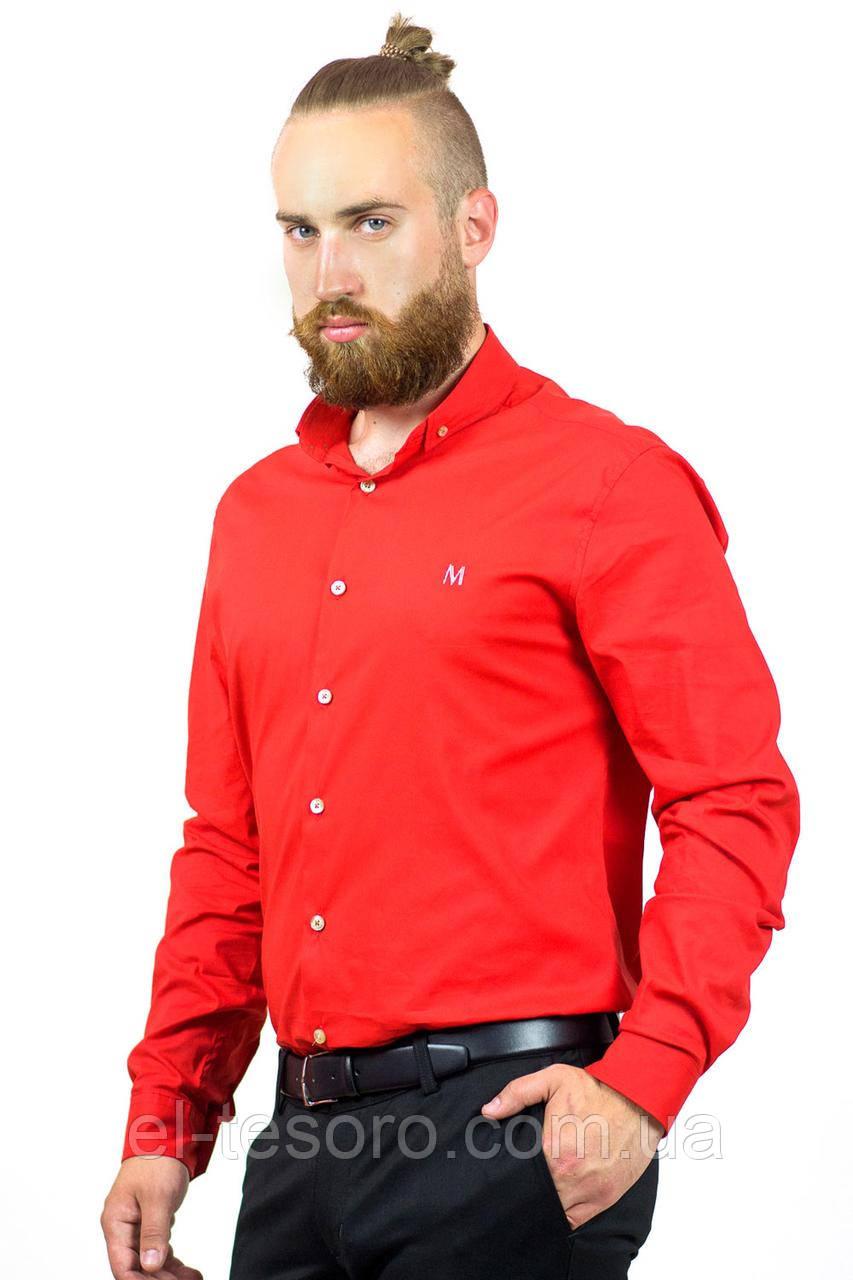 Рубашка Maksymiv S-119-9 XL Красный