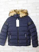 Куртка зимняя для мальчика(140-176)