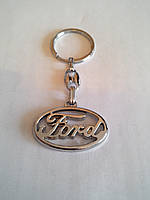 Брелок для ключей металлический оригинальный марка авто форд Ford, фото 1