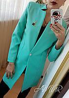 Пиджак, Ткань качественный габардин, без подкладки, с подплечниками много цветов сопт№ 155-150