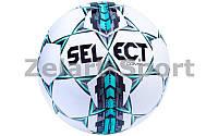Мяч футбольный №5 SELECT CONTRA (белый-серый-голубой)
