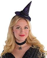 Фирменный обруч шляпка ведьмы украшение на Хэллоуин, фото 1