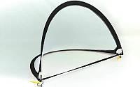 Складные футбольные ворота для тренировок (1шт) C-4898 (пластик, сетка, PVC чехол, р-р 120x81x81см)