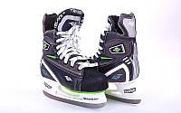 Коньки хоккейные PVC TG-H901S2 (р-р 36-46, лезвие-сталь)
