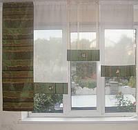 Японские панельки Рельеф зелень , 1,5м, фото 1