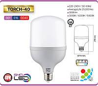 Высокомощная LED лампа TORCH-40 40W 6400K E27