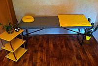 СВОЕ ПРОИЗВОДСТВО Кушетка - чемодан, косметологическая складная, массажный стол, фото 1