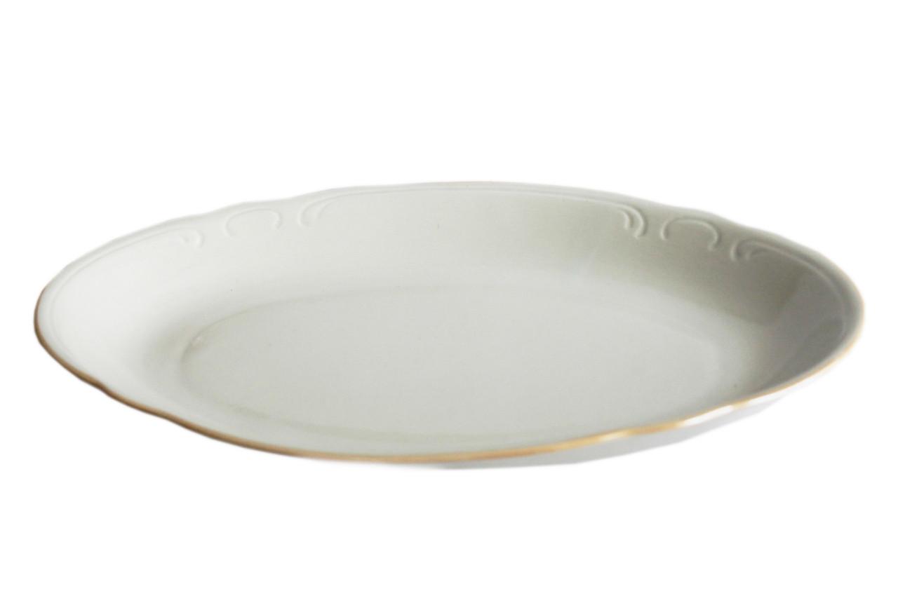 Блюдо керамическое овальной формы