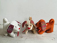 Собака сувенир украинские уши
