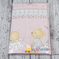 Постельное белье в детскую кроватку девочке 3 предмета