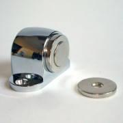 Дверной ограничитель (стопор, стоппер) прикручивающийся, с магнитом