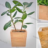 """Деревянный вазон для растений """"TRAPEZE"""", новая коллекция """"Stylish INTERIOR"""""""