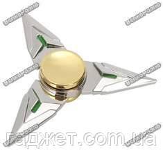 Треугольный ручной спиннер  - Серебро