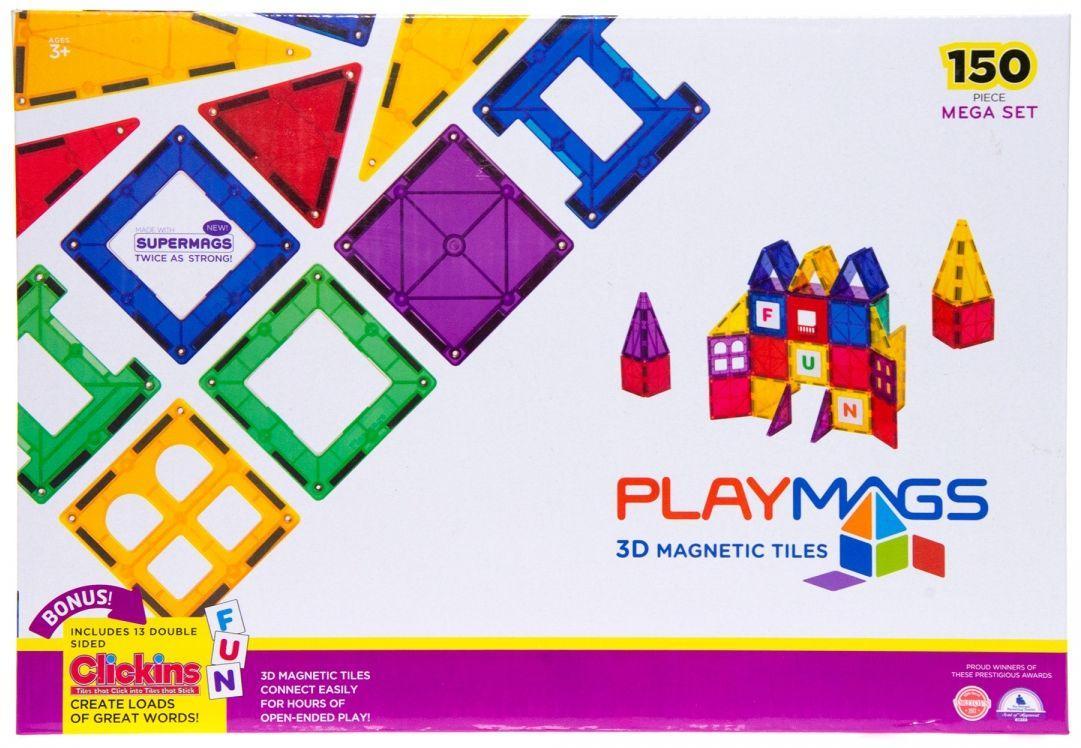 Магнитный детский конструктор Playmags PM156