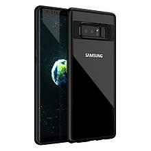 Чехол накладка iPaky Clear Acrylic для Samsung Galaxy Note 8 черный