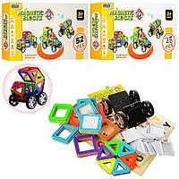 Детский игровой набор Конструктор магнитный 3D Транспорт  (CXY004BC ) -2 вида, 52дет и 48дет