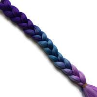 Канекалоновые косички-искусственные волосы из канекалона, боксерские косички, boxer braids- Омбре №39