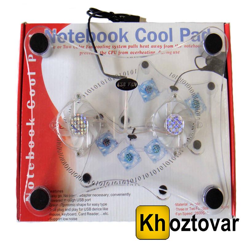 Охлаждающая подставка для ноутбука Notebook Cool Pad LSY-639