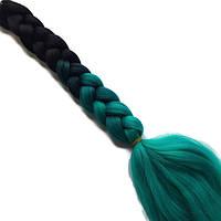 Канекалоновые косы омбре-искусственные волосы из канекалона, боксерские косички, boxer braids- Омбре №7