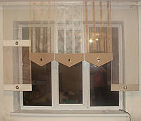 Японские панельки Сеточка золото, 2м, фото 1