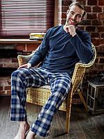 Хлопковый мужской домашний комплект / пижама MNS 411