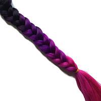 Косички из канекалона-искусственные волосы из канекалона, боксерские косички, boxer braids- Омбре №36