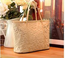Нежная сумка с кружевами, фото 2