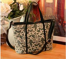Нежная сумка с кружевами, фото 3