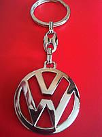 Брелок для ключей металлический оригинальный марка авто Фольксваген VOLKSWAGEN, фото 1