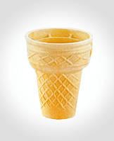 Вафельный стаканчик для мороженого Миланский конус