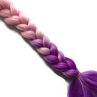 Канекалоновые косички-искусственные волосы из канекалона, боксерские косички, boxer braids- Омбре №28