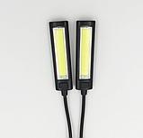 Світильник з кліпсою на 2 яскравих COB діода 150LM, фото 6