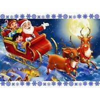 Cake Deco Вафельная картинка A4 Новый год, Рождество 8