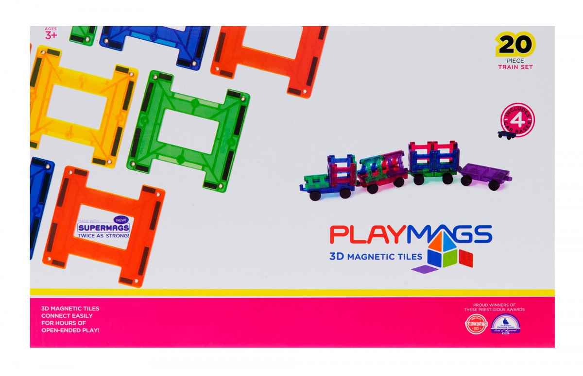 Интересный магнитный конструктор Playmags PM155