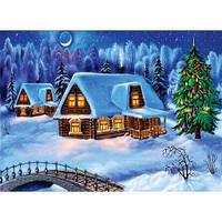 Cake Deco Вафельная картинка A4 Новый год, Рождество 4