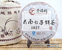 """Китайский чёрный чай - Шу пуэр  """"1027"""", 2010 год, фото 1"""