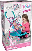 Коляска для куклы BABY BORN ИДЕМ НА ПРОГУЛКУ прогулочная Zapf (1423492)