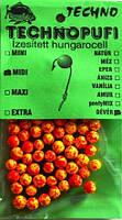 Наживка Техно шарики из пенопласта Лещ, midi (4-6мм)