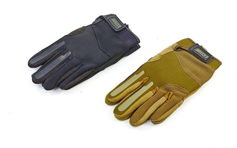 Перчатки тактические с закрытыми пальцами Blackhawk 4924: 2 цвета, размер M-XL - MegaSale в Одессе