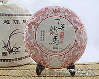 """Китайский чёрный чай - Шу пуэр """"Лонг Ма Тин Бин"""", 2016 год, фото 1"""