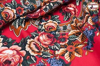 Павлопосадский платок  Непревзойдённая роспись, фото 3