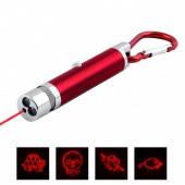 Брелок Фонарик+лазер ZK-9103-2 LED