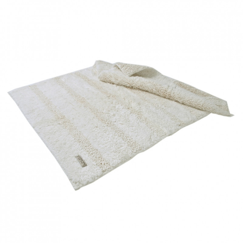 Банный коврик из гидрохлопка с антибактериальной защитой Кремовый