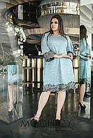 Платье (48-52,54-58,60-64) —  трикотаж купить оптом и в розницу в одессе  7км