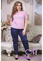 Батальные женские брюки (р. 48-90) арт. Чинос
