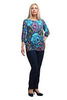 Женская блуза большого размера 1710036/1