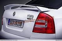Спойлер RS из стеклопластика на Skoda Octavia A5 2004-2009