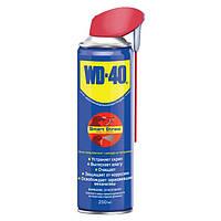 WD-40 250мл smart straw (с носиком) Универсальная смазка