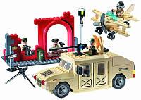 """Конструктор Brick """"Военный Хаммер"""" (817)"""